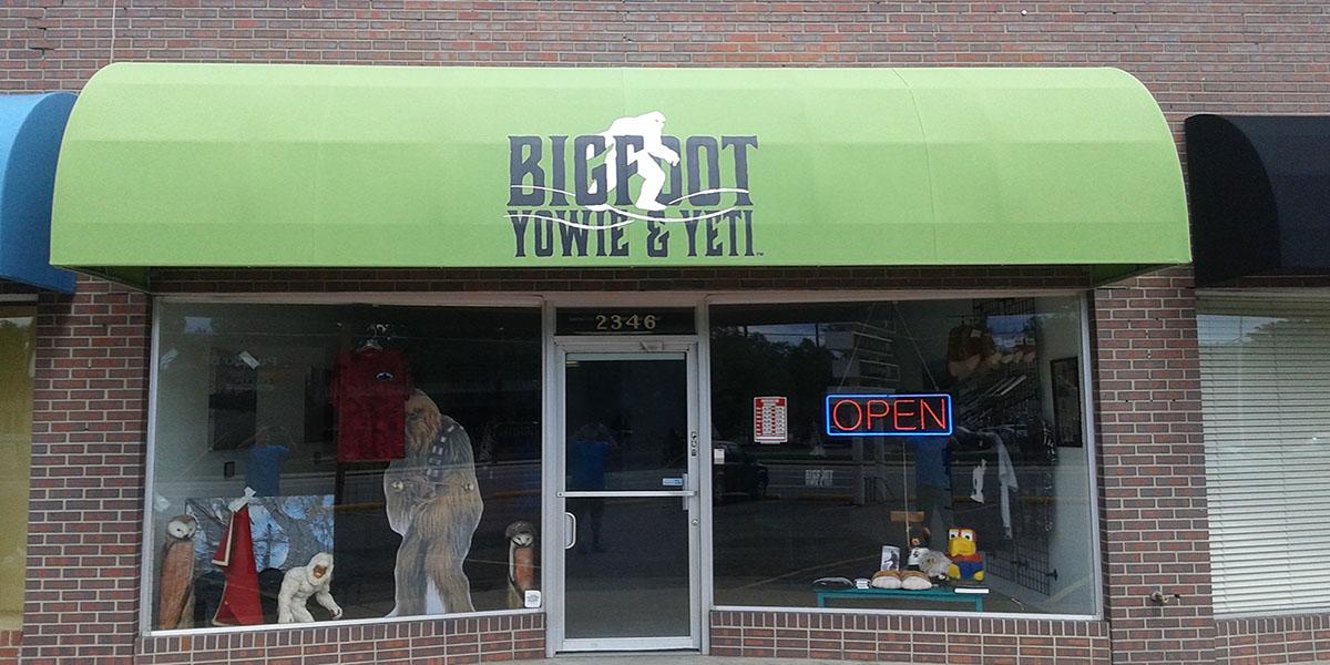 bigfoot yowie & yeti retail store