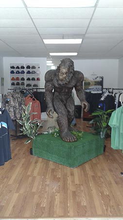 bigfoot yowie & yeti store frank