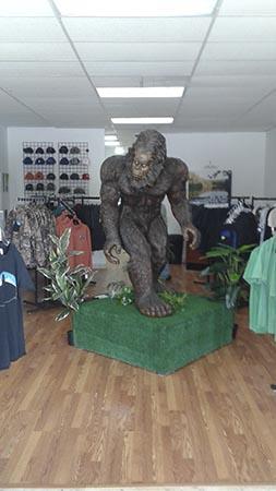 bigfoot yowie & yeti store frank