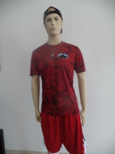 red hex sasquatch teeshirt