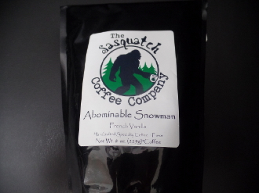 sasquatch coffee abominable snowman 8oz