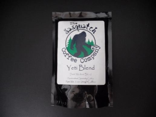 sasquatch coffee yeti blend 2oz