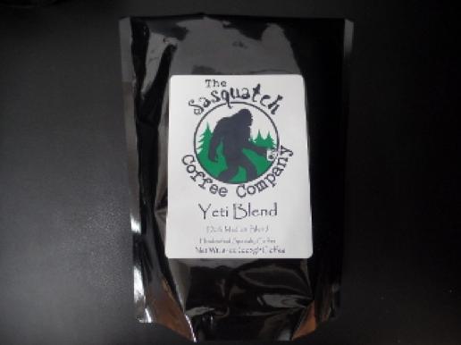 sasquatch coffee yeti blend 8oz